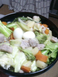 今夜の ご飯